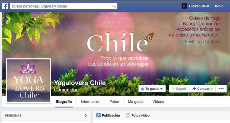 Diseño Yoga Lovers Chile