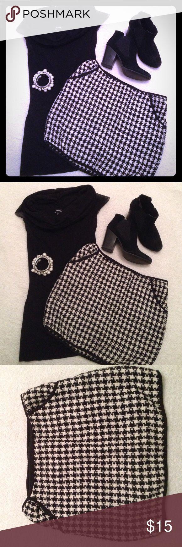 Selling this Black and white Checkered Skirt on Poshmark! My username is: babydoll_xxxx. #shopmycloset #poshmark #fashion #shopping #style #forsale #Forever 21 #Dresses & Skirts