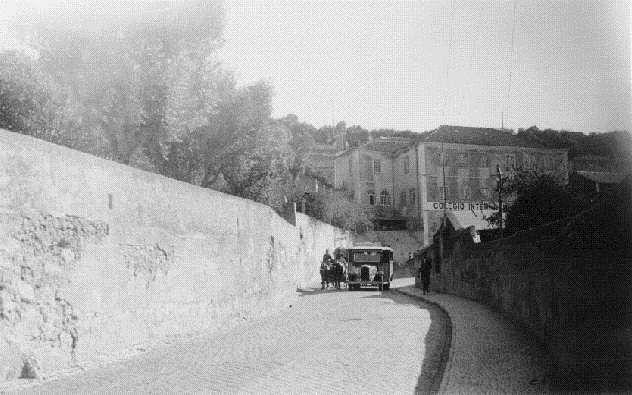 Calçada de Carriche, 1938