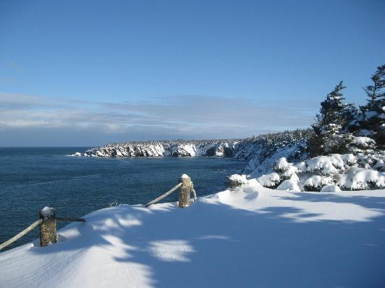 Nova Scotia. Ocean and snow... Never thought of the two together!