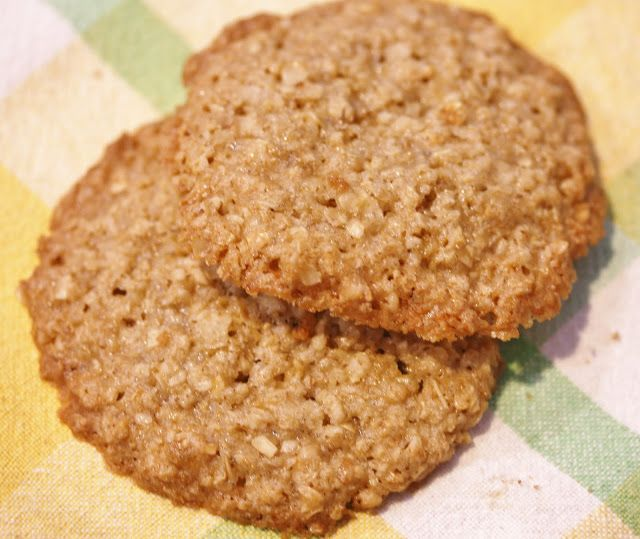 Best of Long Island and Central Florida: Flourless Oatmeal Lace Cookies