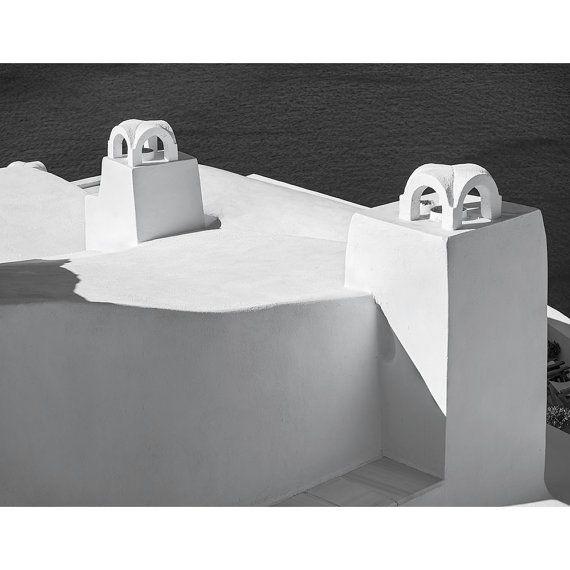 """Two Chimneys #1, Santorini"""