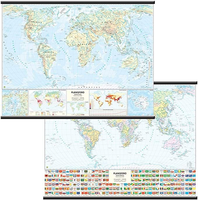 Cartina Geografica Mondo Gratis.Carta Geografica Mondo Fisico Politica Pdf Download Ebook
