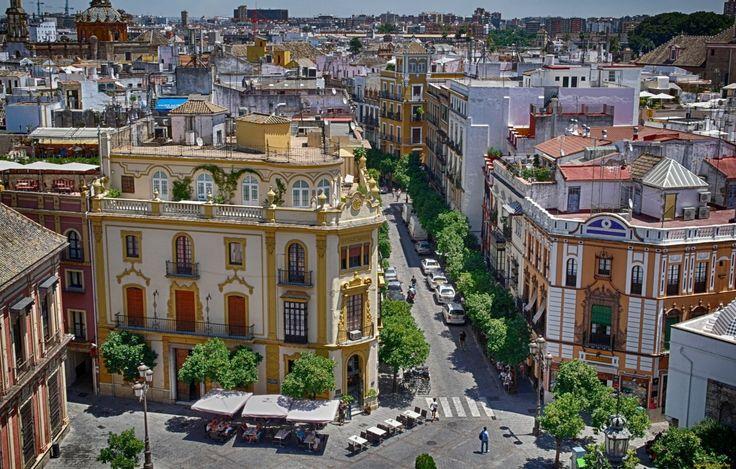 🇷🇺──────────── Страна: Испания Город Севилья. 🇬🇧──────────── Country: Spain City of Seville.