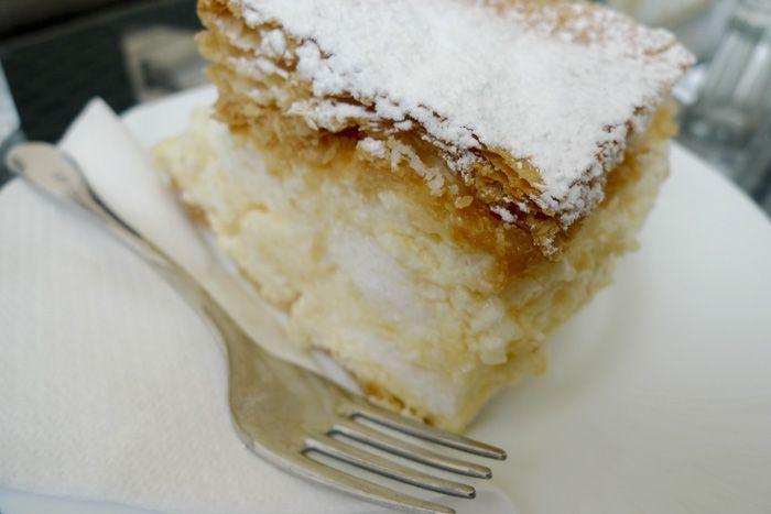 Kremšnita - Croatian pastry dessert (recipe)