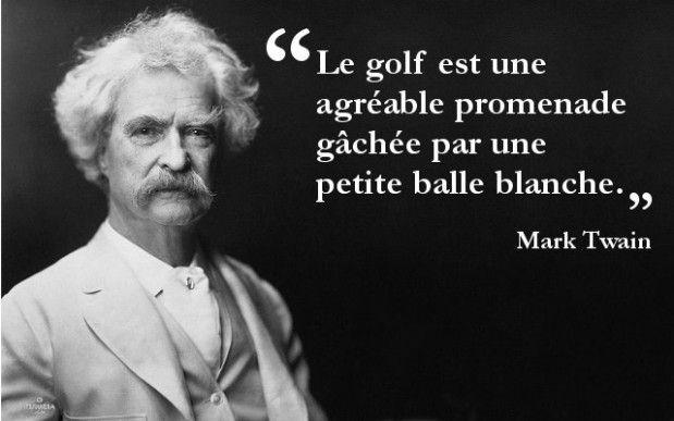 Le golf : une agréable promenade gâchée par une petite balle blanche. Téléchargez les 50 meilleures citations sur le golf : http://www.idee-golf.fr/les-50-meilleures-citations-sur-le-golf