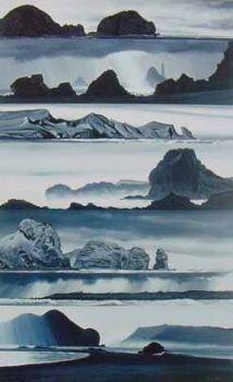 Headlands: West Auckland and Taranaki by Peter Lambert