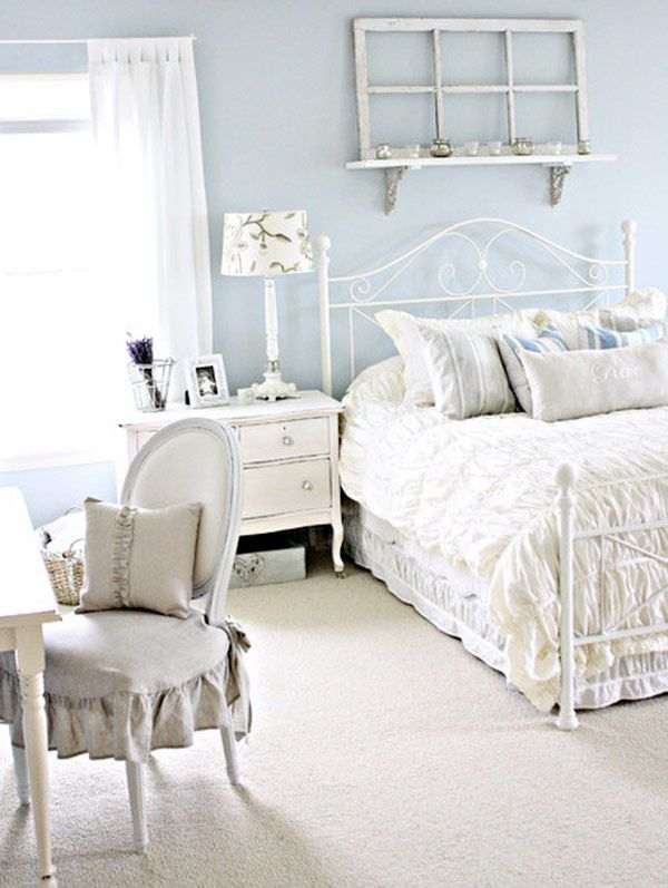 31 ljuvligaste sovrummen i shabby chic-stil – Sköna hem