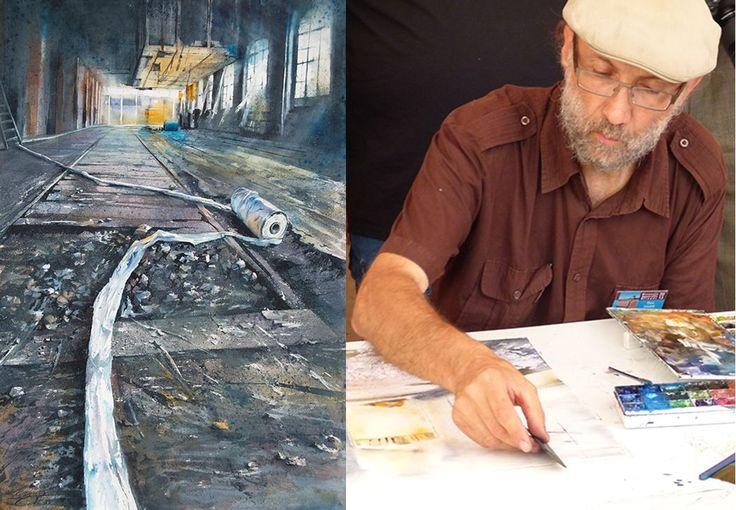 Découvrez les artistes de la Biennale d'Aquarelle de Brioude 2015 ► Théo SAUER : http://goo.gl/ZFJnWF #BAB2015 #aquarellebrioude