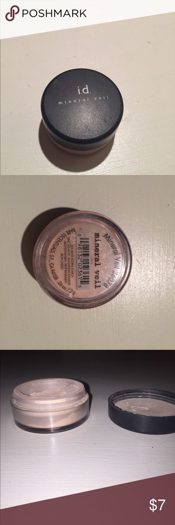Bare Escentuals ID Mineral Veil Bare Escentuals Mineral Veil 36078. Used several times, but still in great condition. Bare Escentuals Makeup Face Powder