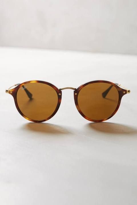 Round Icon Sunglasses by Ray-Ban #anthrofave # ...