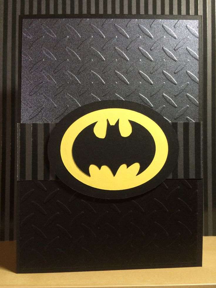 Batman card                                                                                                                                                                                 More
