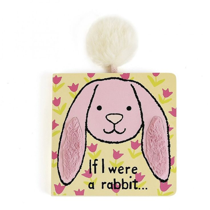 Easter: Have you ever wondered what it would be like to be a floppy, hoppy bunny? Well, this mischievous story comes complete with a special pom-pom tail to stroke whilst you read! If I Were A Bunny is sure to set noses twitching at bedtime!