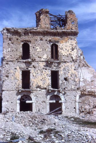 Cassino (Italy) by SMU Central University Libraries, via Flickr - aftermath of the Battle of Monte Cassino 1944