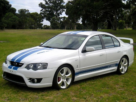 2007 FPV Falcon GT Cobra and the new one is really nice, would have one of these too.