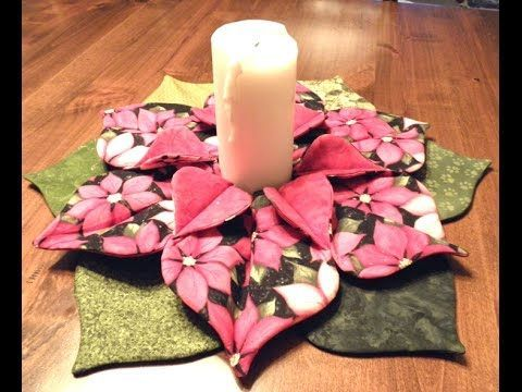 We are offering this pattern for $2.00 on our website at www.thimble-art.com. Here is a direct link to the Poinsettia Centerpiece pattern: http://thimble-art...
