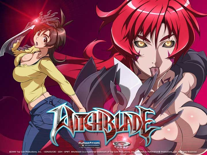 Been watching Witchblade anime again.  Despite the flaws and the...well fanservice as you can tell, I still enjoy it.