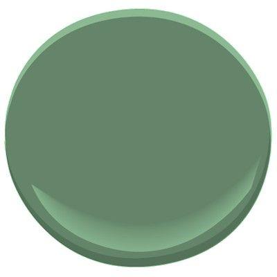 Benjamin moore fairmont green hc 127 dark green stripe for Benjamin moore dark green