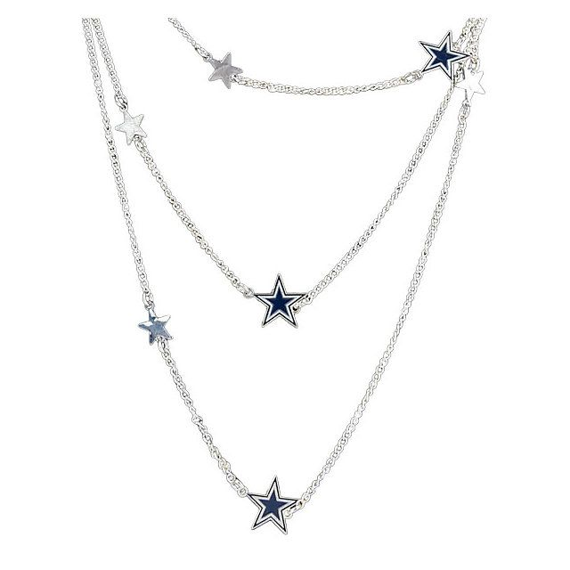 NFL Dallas Cowboys Women's Wrap Around DC Star Necklace at shop.dallascowboys.com.