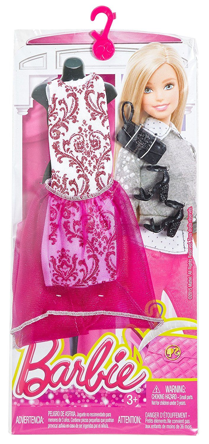 Amazon.com: Barbie Complete Look Fashion Pack 2: Toys ...
