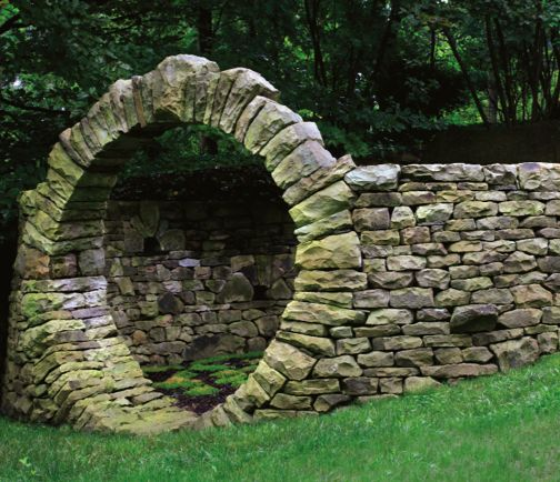 Wonderful Imagine The Excitement Of Walking Thru This Stone Portal Into A Loverly  Green Space.