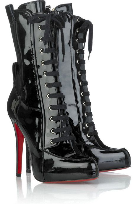 Christian Louboutin.... Similar to what I wanted for my wedding ;)