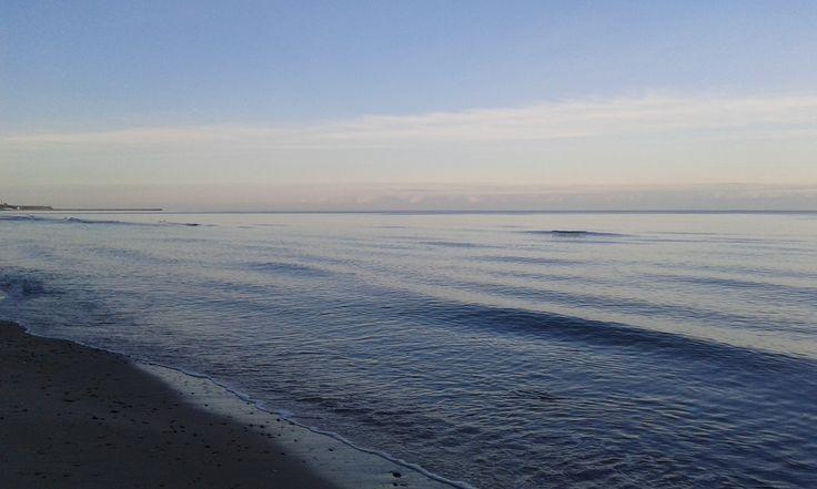 Baltic sea in January