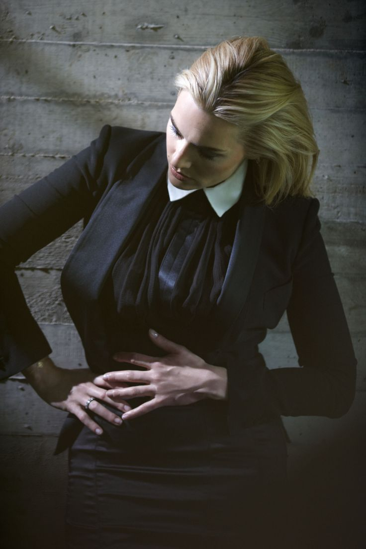 Kate Winslet in a photoshoot for Madame Figaro, 2012, by Greg Williams