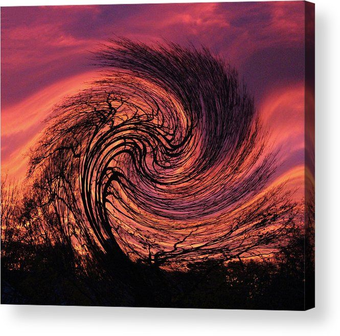Stormy Abstract Acrylic Print By Karen Silvestri Abstract Fine Art America Abstract Photography