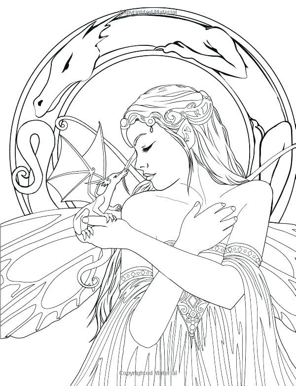 Coloring Pages Animals Pdf Realistic Fairy Cool And Hard Things To Fairy Coloring Book Coloring Books Coloring Pages