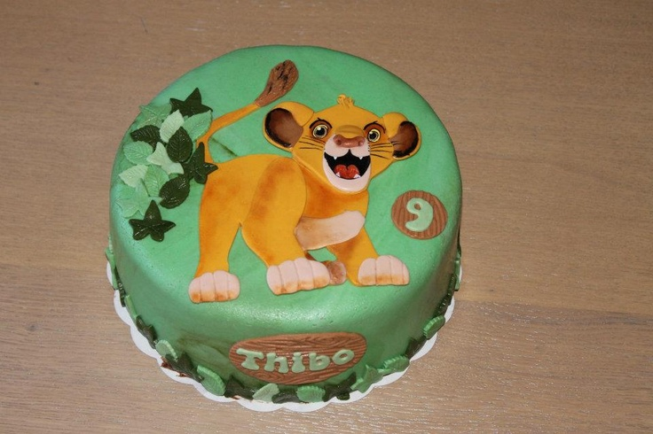 Lion King Simba Cake Ideas And Designs