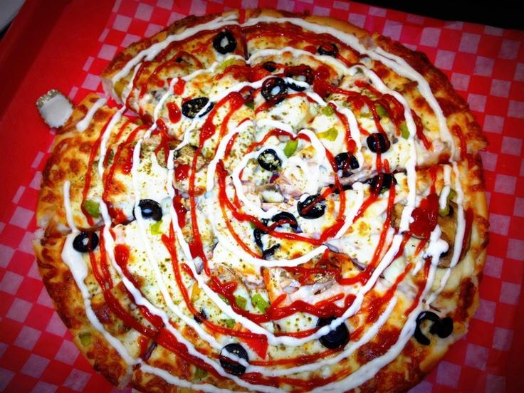 Persian Pizza - New York Rose - Toronto