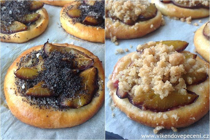 ŠVESKOVÉ KOLÁČE S DROBENKOU                            Blog o pečení všeho sladkého i slaného, buchty, koláče, záviny, rolády, dorty, cupcakes, cheesecakes, makronky, chleba, bagety, pizza.