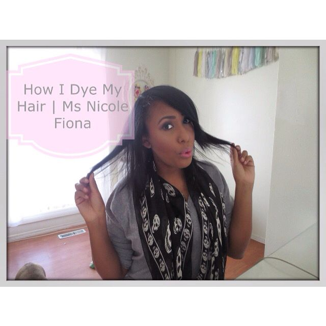 New year, new me  a quick little tutorial on how I dye my hair at home !