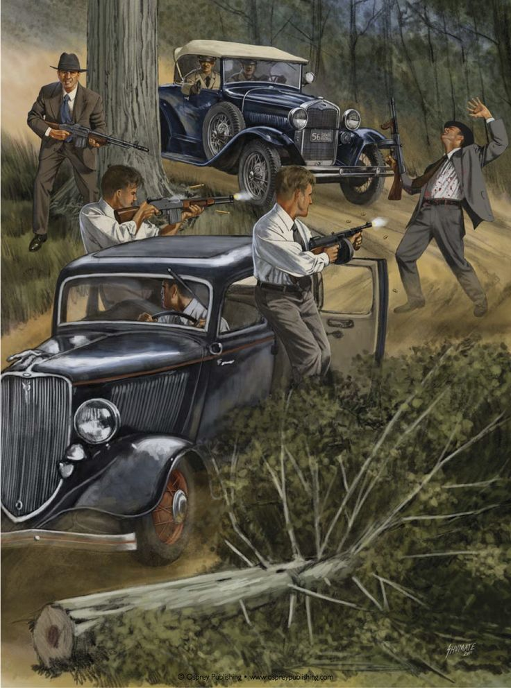 Ambush and assassination of Bonnie and Clyde by the FBI ...