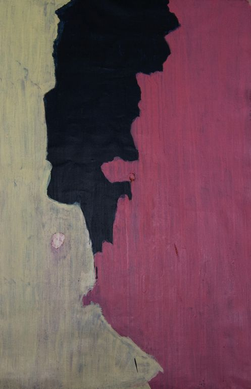 Memoirs of an Unknown Painter I Rami Yazje Lebanon Painting Size: 59.1 H x 39.4 W x 1.6 in $1,950