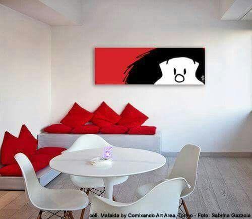 Cuadro Mafalda