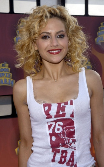 Brittany Murphy at the 2002 MTV Movie Awards.