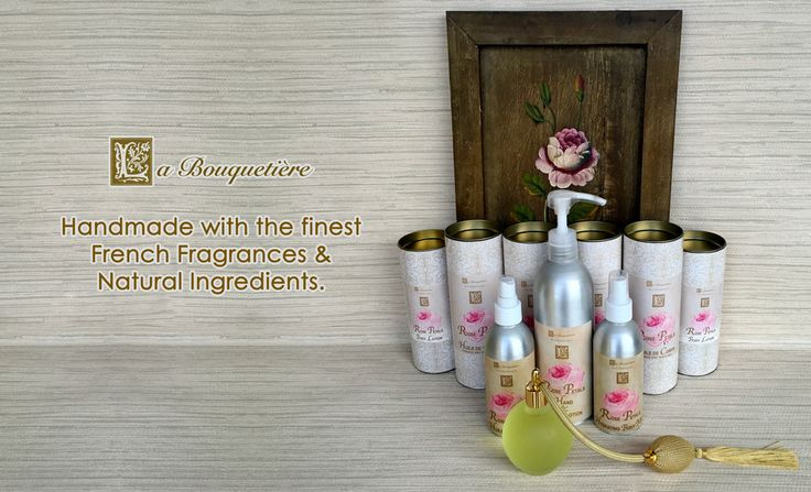 Handmade with the Finest French Fragrances & Natural Ingredients.