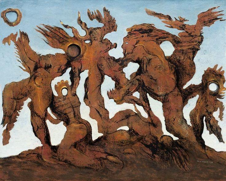 Max Ernst, The Horde, 1927