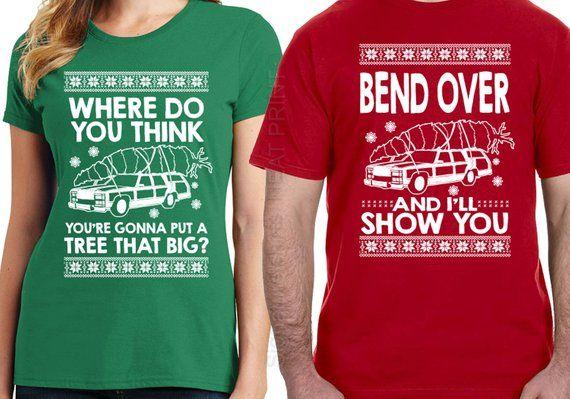 Where are You Going Ugly Christmas T-Shirt