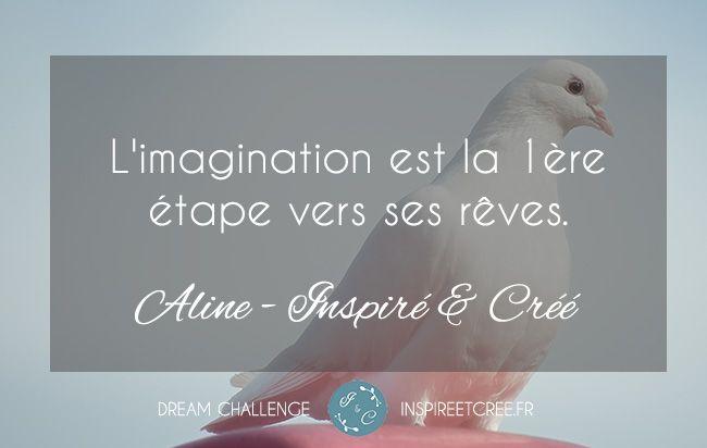 le pouvoir de L'imagination - réaliser ses rêves, développement personnel Dream Challenge