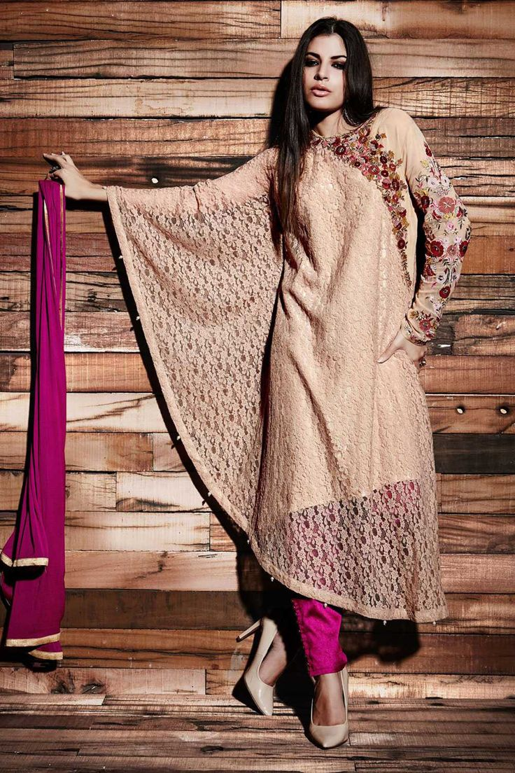 And what You have been waiting FOR! Eid Fashion Trends 2016 for Women is Here Now!  Exclusive Designer #Eid Collection in #Cream and #Maroon Color Shop online @http://goo.gl/7DQ0Ys