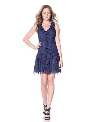Ali Ro Women's Grace Drop Waist Lace Dress