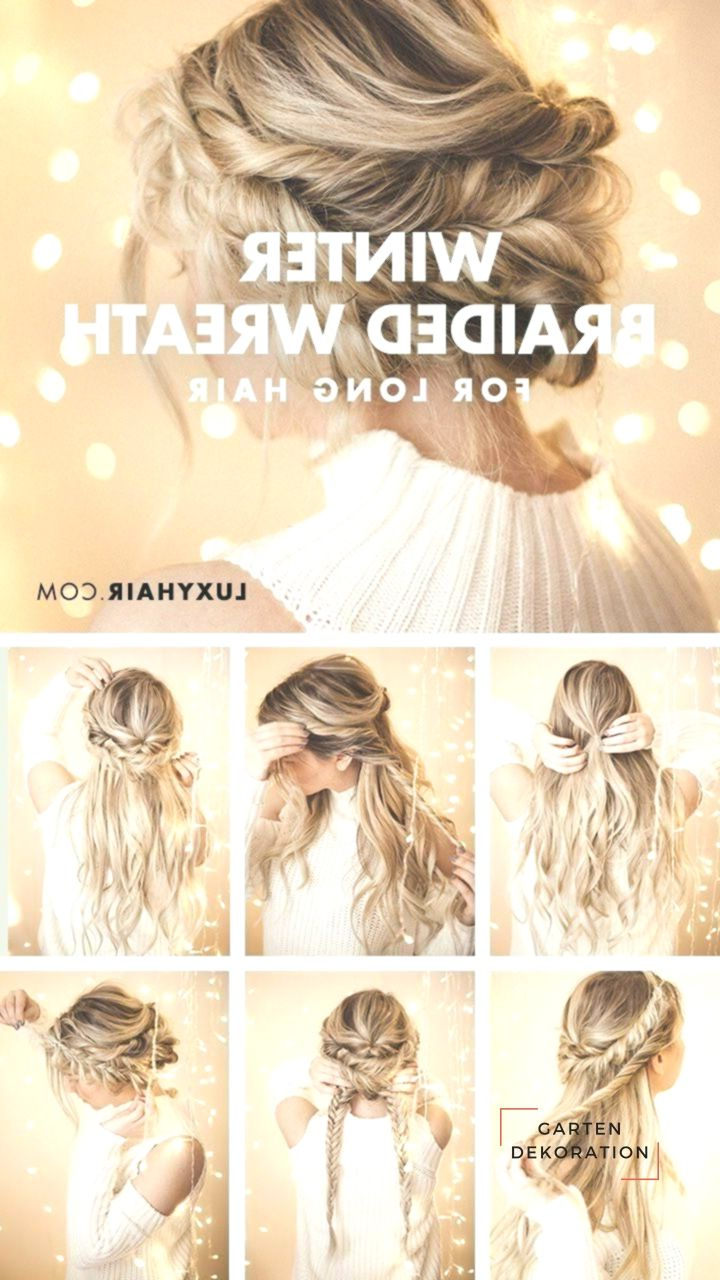 braided halo hairstyle: simple updo for long hair pinterest