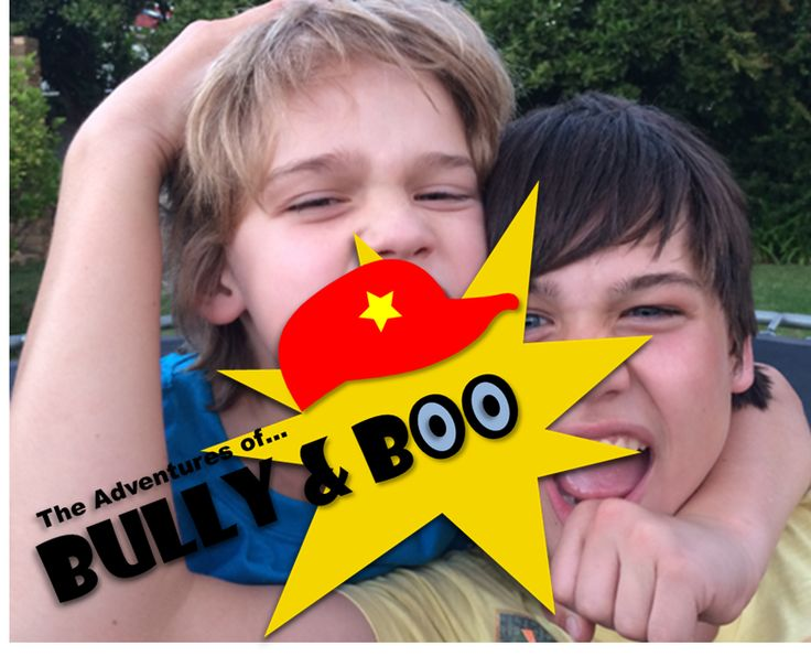 The Adventures of Bully & Boo: Reuben & Timeon Jansen van Renburg, Interactive Comic Strips about Bullying, Lessons about Bullying, Teach children empathy to prevent bullying, teachers on bullying