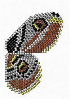 Хвостатка королевская (параллельное плетение) и другие схемы | biser.info - всё о бисере и бисерном творчестве
