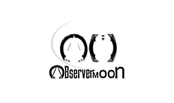 Observermoon, logo revamp. www.facebook.com/pages/observermoon/
