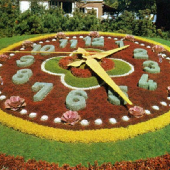 See the Beatuiful Floral Clock in Niagara Falls
