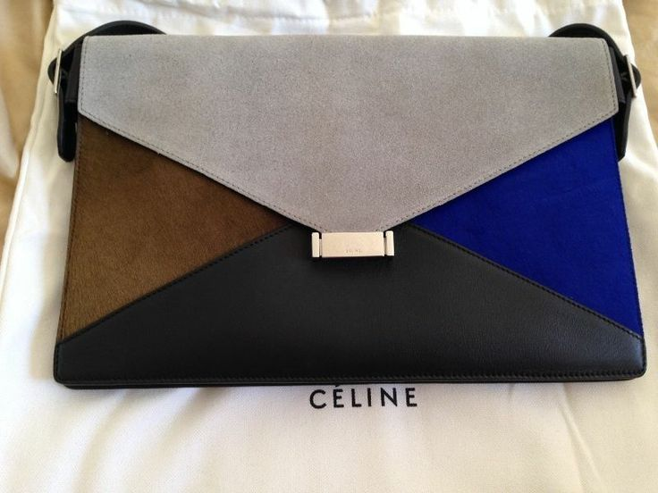 Celine multi color clutch bag - Retail Price $2,450 #Celine ...